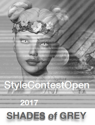 cat Style Constest Open 2017 - SHADES of GREY